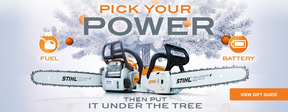 View the STIHL Holiday Gift Guide
